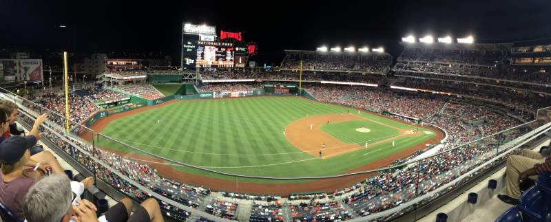 Seating view for Nationals Park Section 305 Row B
