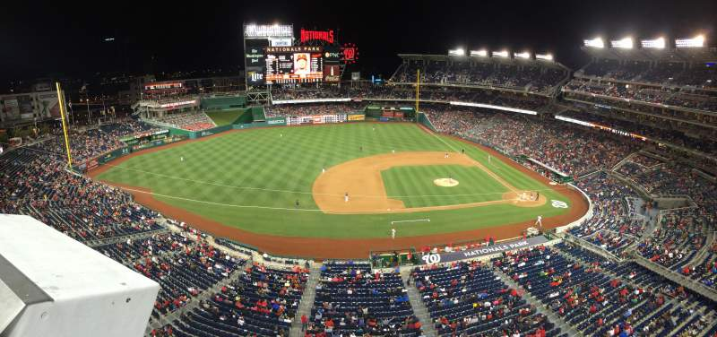 Seating view for Nationals Park Section 307 Row A
