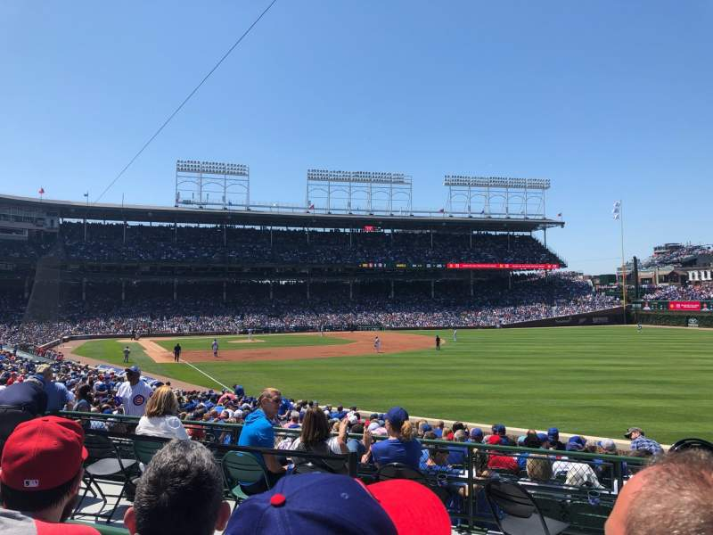 Seating view for Wrigley Field Section 232 Row 2 Seat 21