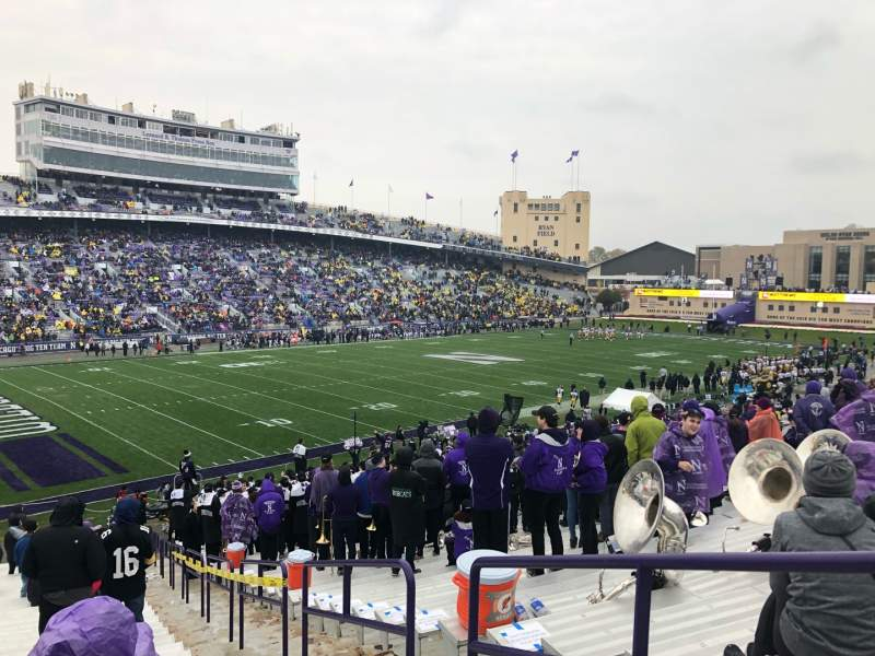 Seating view for Ryan Field Section 113 Row 41 Seat 4