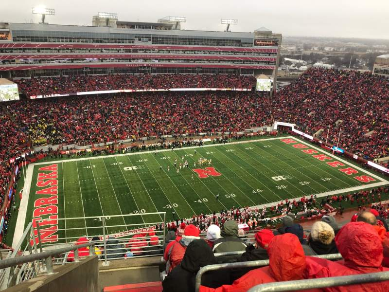 Seating view for Memorial Stadium (Lincoln) Section 610 Row 9 Seat 19