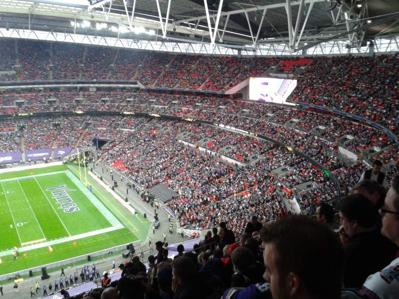 Seating view for Wembley Stadium Section 524 Row 25 Seat 333