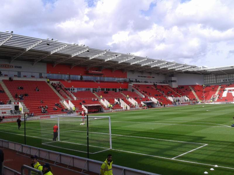 Seating view for New York Stadium Section South Stand