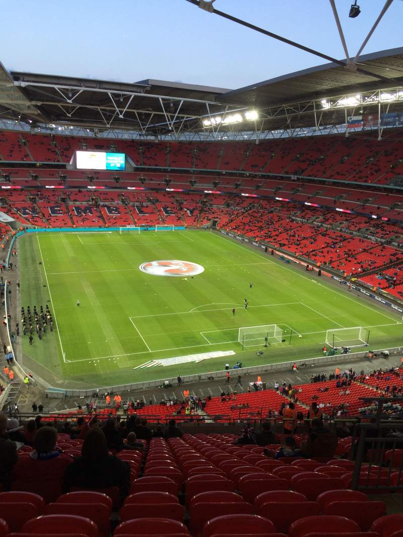 Seating view for Wembley Stadium Section 542 Row 19 Seat 80