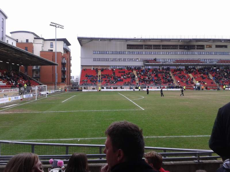 Seating view for Matchroom Stadium Section East Stand