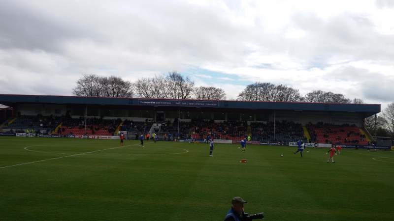 Seating view for Spotland Stadium Section Willbutts Lane Stand