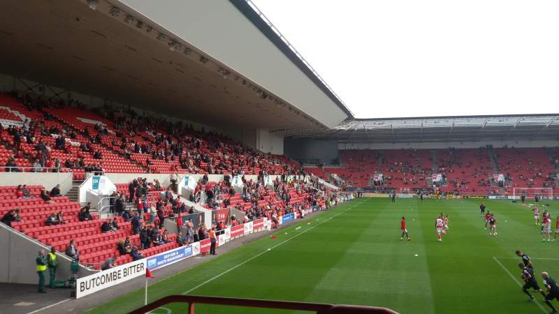 Seating view for Ashton Gate Stadium Section Atyeo Stand