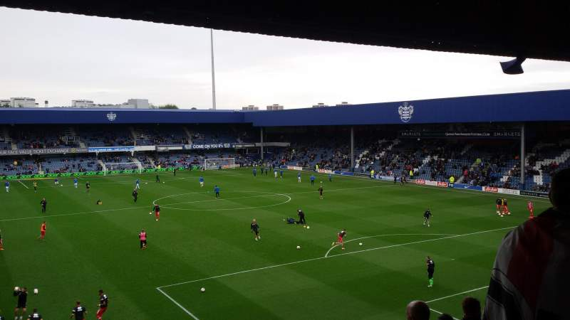 Seating view for Loftus Road Section School End