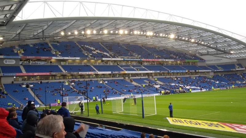 Seating view for American Express Community Stadium Section South Stand