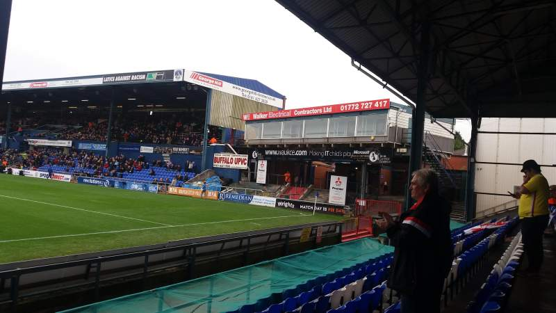 Seating view for Boundary Park Section Oldham Athletic Row D Seat 75