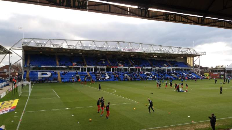 Seating view for London Road Stadium Section Main Stand Row N