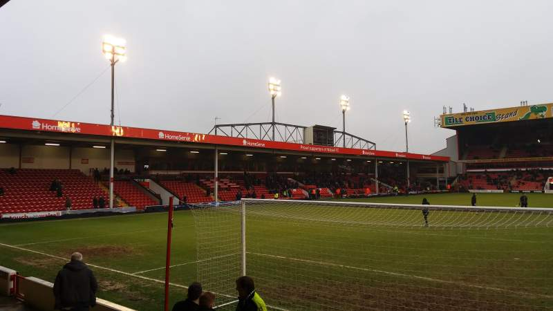 Seating view for Bescot Stadium Section Away End