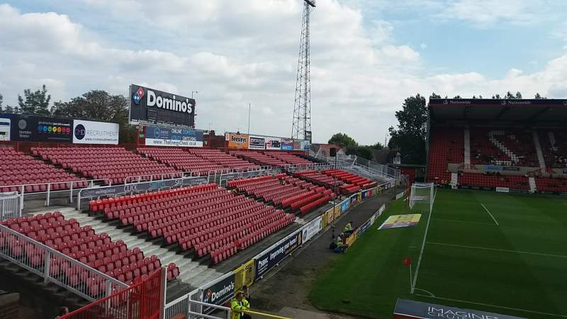Seating view for County Ground Section Arkells Stand