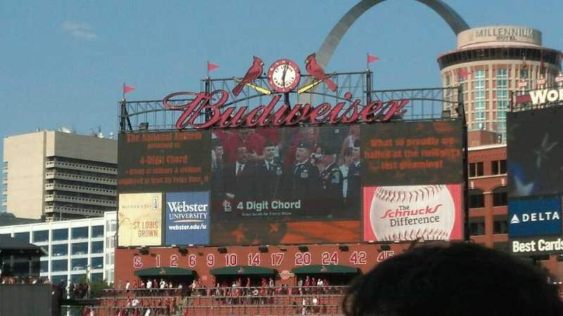 Seating view for Busch Stadium Section 146 Row 10 Seat 3 and 4
