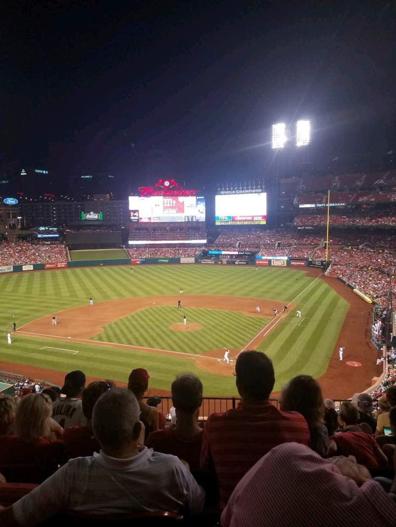 Seating view for Busch Stadium Section 252 Row 8 Seat 10