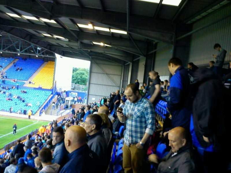 Seating view for Prenton Park