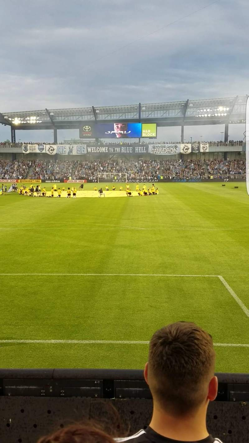 Seating view for Children's Mercy Park Section General Admission South Stands Row 3 Seat N/A
