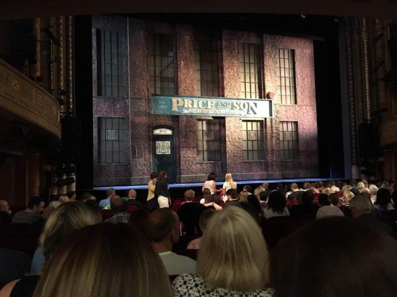 Seating view for Al Hirschfeld Theatre Section ORCHL Row P Seat 5