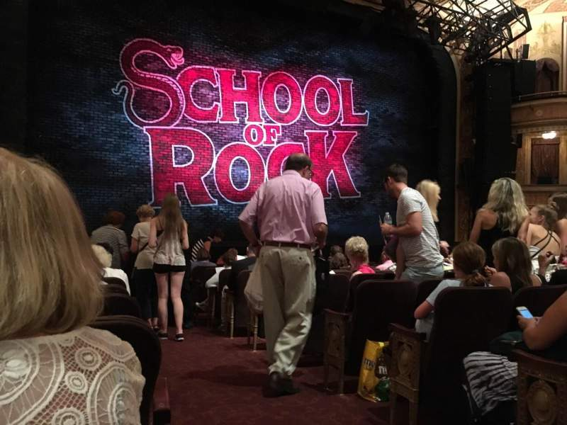 Seating view for Winter Garden Theatre Section ORCH Row M Seat 1