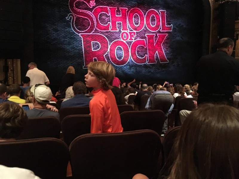 Seating view for Winter Garden Theatre Section ORCH Row M Seat 5