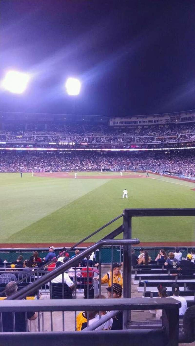 Seating view for PNC Park Section 236 Row a Seat 1