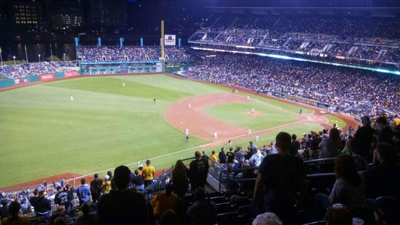 Seating view for PNC Park Section 330 Row S Seat 10