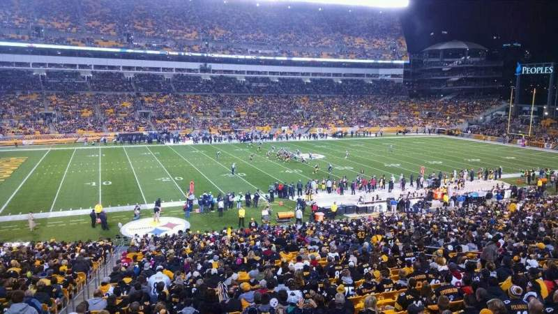 Seating view for Heinz Field Section 232 Row a Seat 4