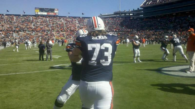 Seating view for Jordan-Hare Stadium Section goal line
