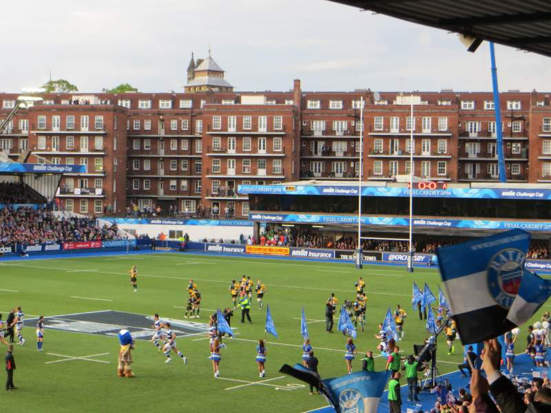 Seating view for Cardiff Arms Park Section 5