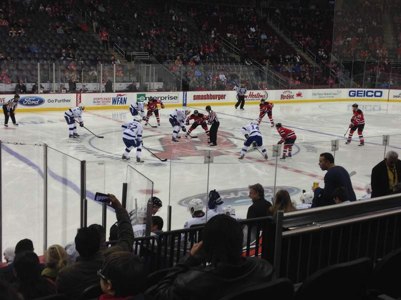 Seating view for Prudential Center Section 7