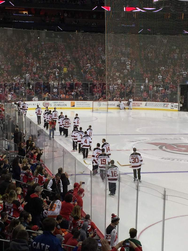 Seating view for Prudential Center Section 1 Row 15 Seat 17