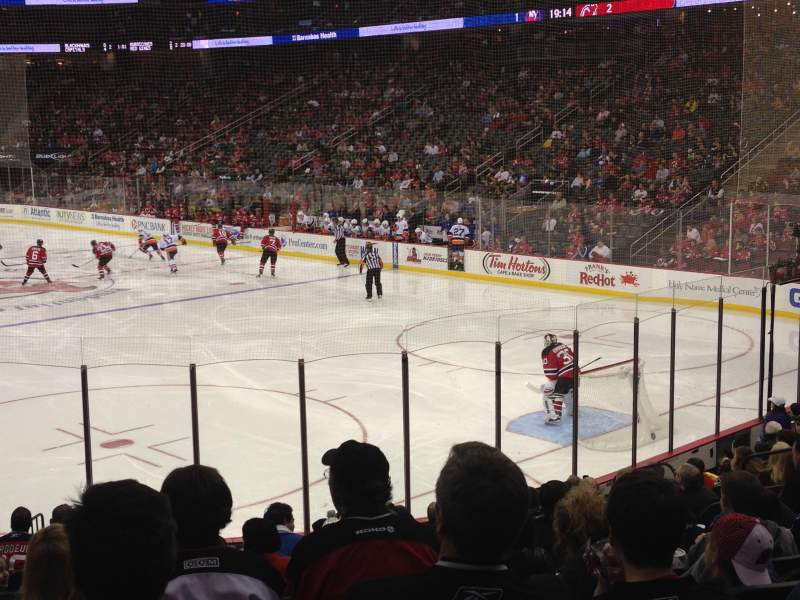 Seating view for Prudential Center Section 1 Row 15 Seat 15
