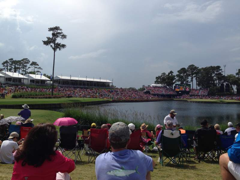 Seating view for TPC at Sawgrass Section Hole 17