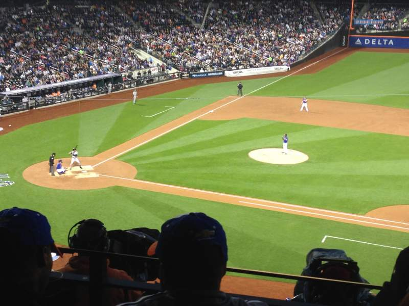Seating view for Citi Field Section 312 Row 2