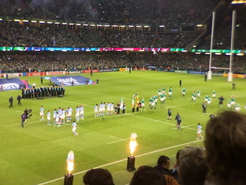 Seating view for Principality Stadium Section m12 Row 9 Seat 24