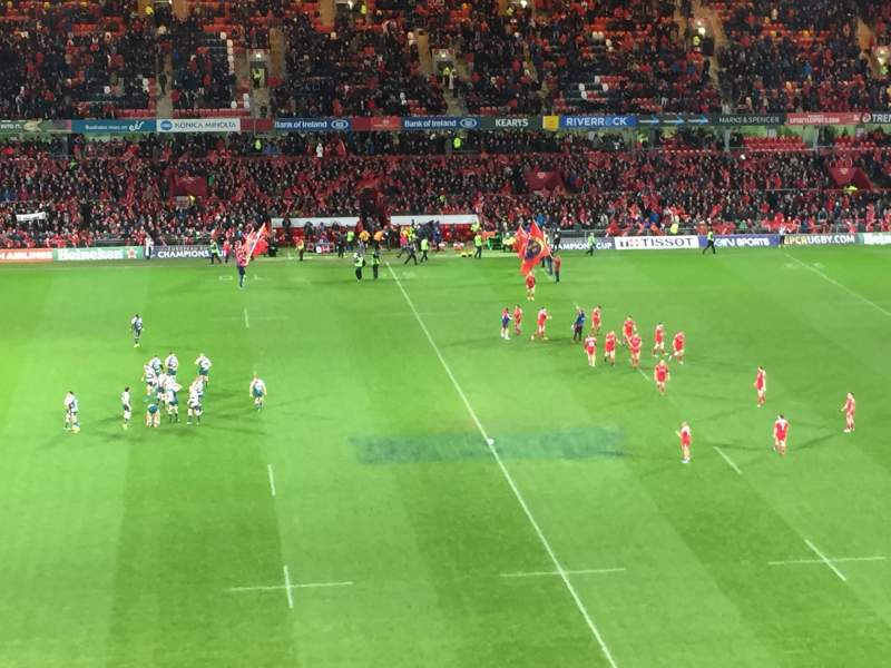 Seating view for Thomond Park