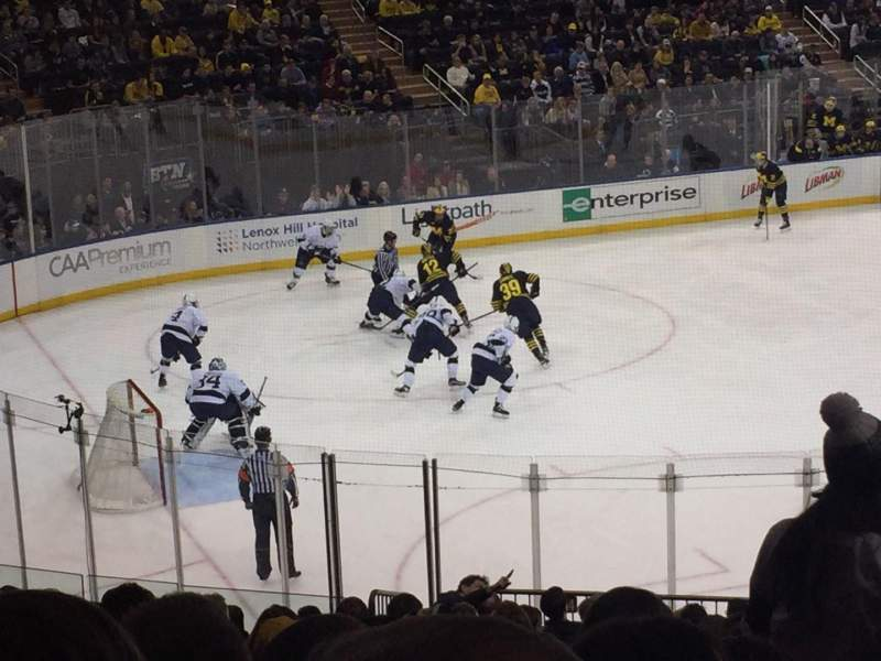 Madison Square Garden, section: 114, row: 21