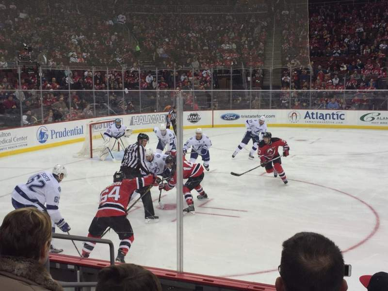 Seating view for Prudential Center Section 7 Row 6 Seat 16