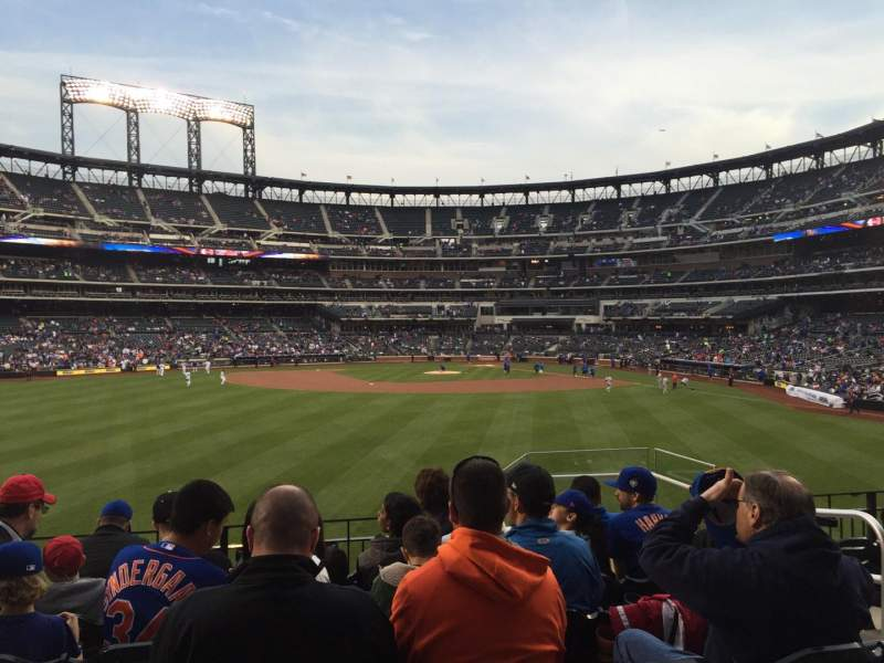 Seating view for Citi Field Section 137 Row 7 Seat 5