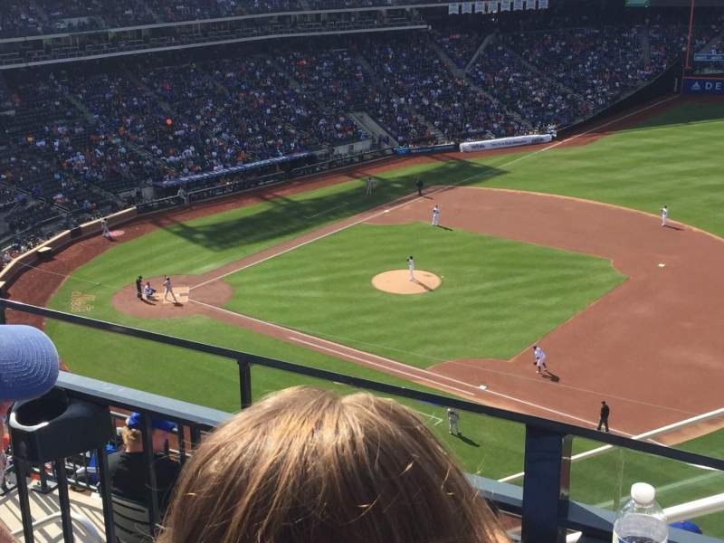 Seating view for Citi Field Section 505 Row 2 Seat 16