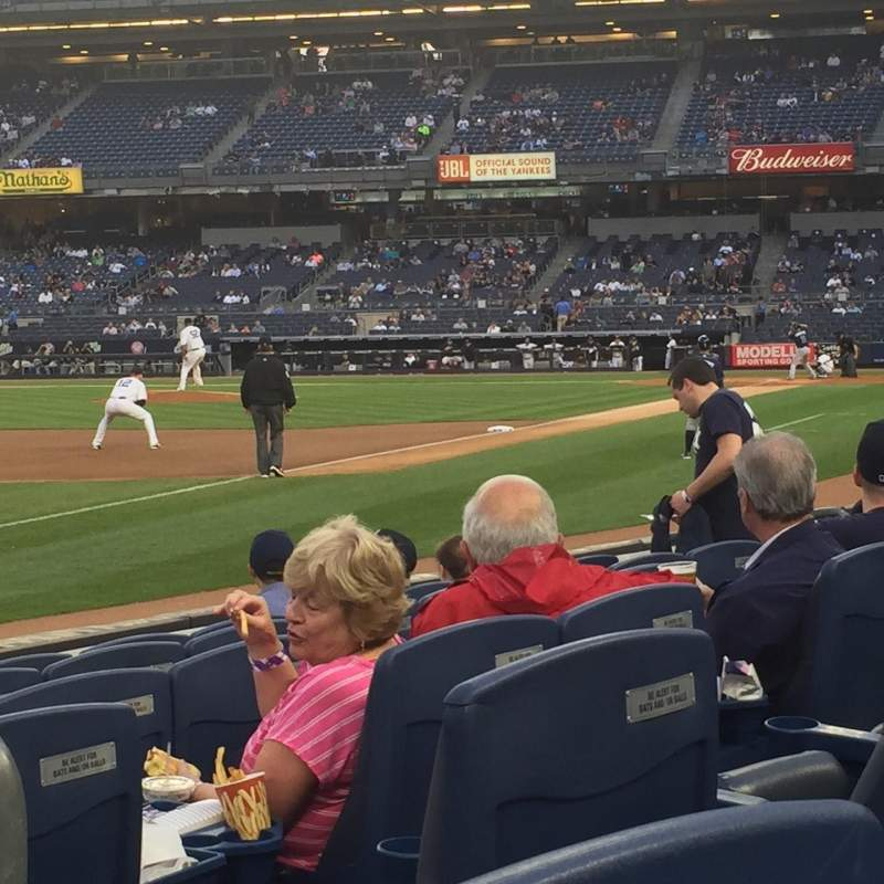 Seating view for Yankee Stadium Section 029 Row 6 Seat 2