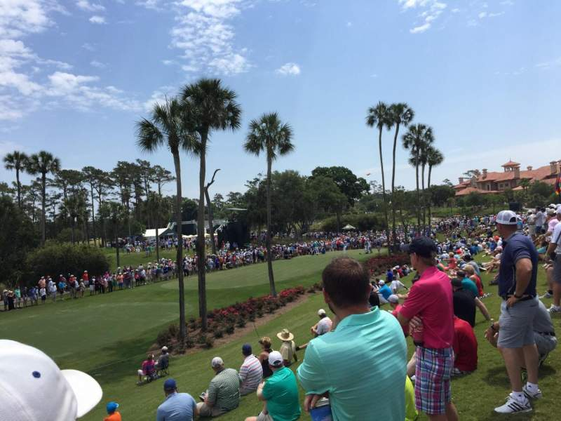 Seating view for TPC at Sawgrass Section 3rd Hole