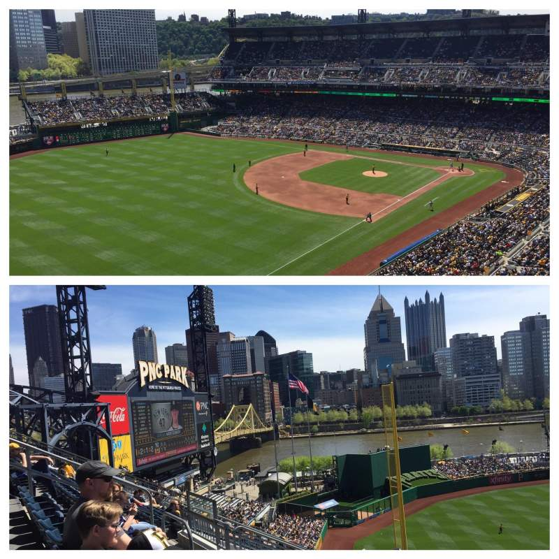 Seating view for PNC Park Section 332 Row m
