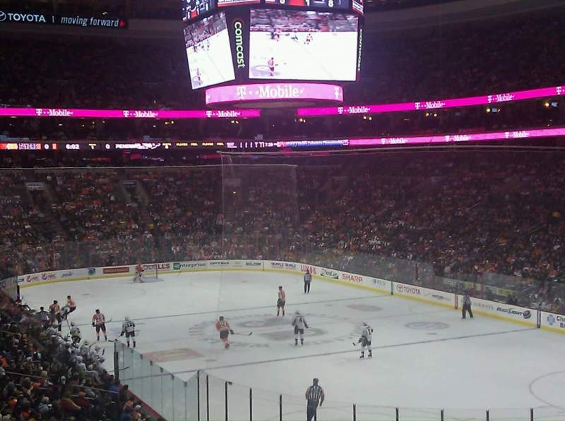 Seating view for Wells Fargo Center Section 105 Row 26 Seat 16