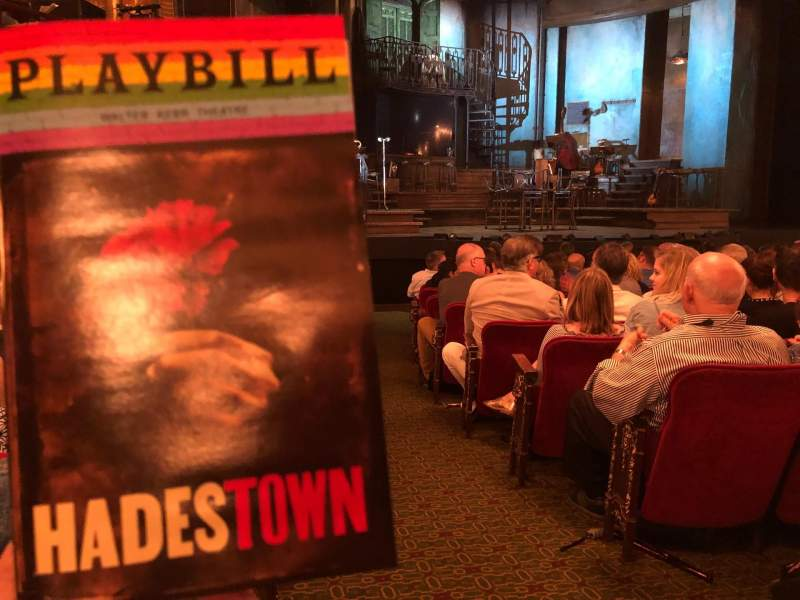 Seating view for Walter Kerr Theatre Section Orchestra L Row P Seat 1