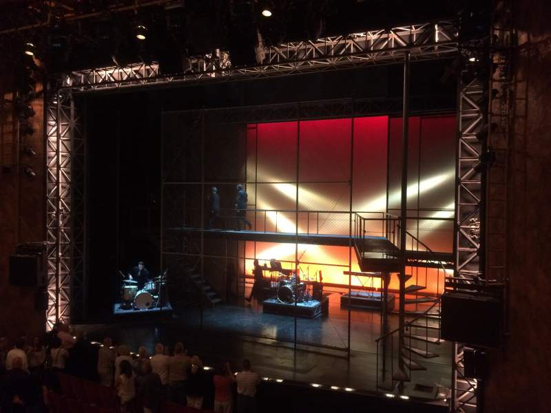 Seating view for August Wilson Theatre Section Mezzanine Right Row A Seat 10