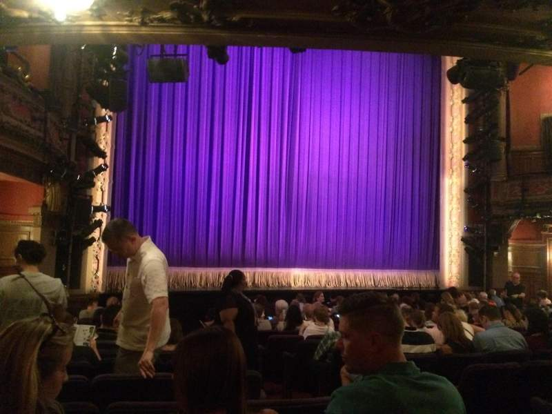 Seating view for Lyceum Theatre (Broadway) Section Orchestra Left Row O Seat 5