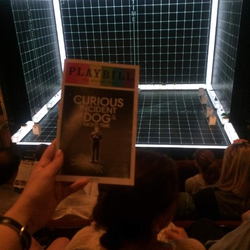 Seating view for Ethel Barrymore Theatre Section Front Mezzanine Row D Seat 112