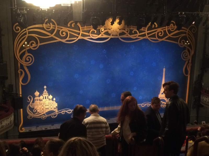 Seating view for Broadhurst Theatre Section Mezzanine L Row K Seat 7