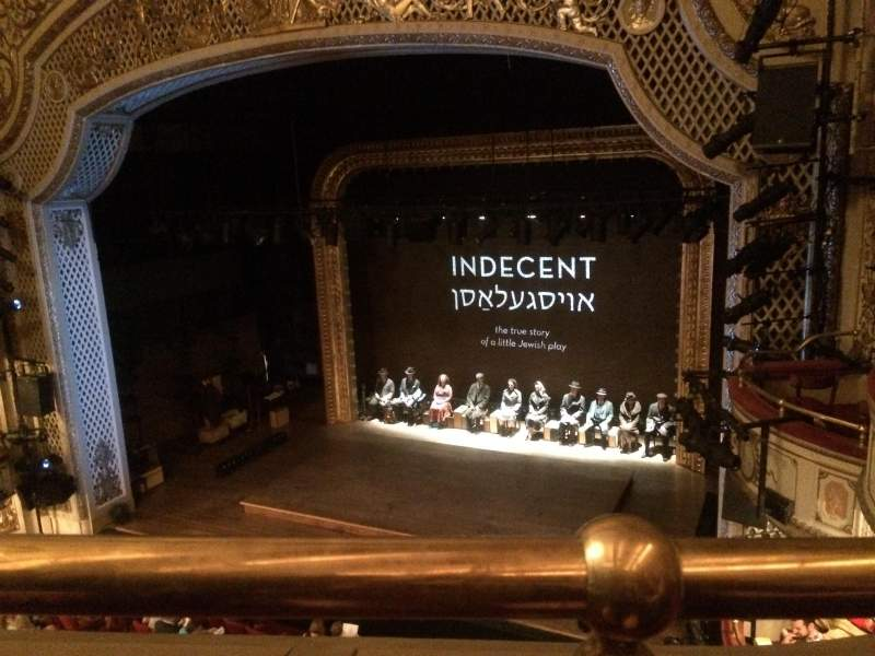 Seating view for Cort Theatre Section Balcony R Row A Seat 10